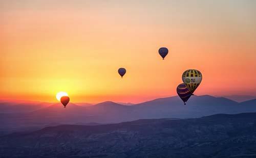 Beleef Ommen vanuit de lucht tijdens een ballonvlucht
